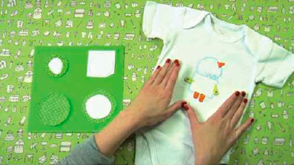 Tricotosas 17: Aplicación patchwork a body bebé