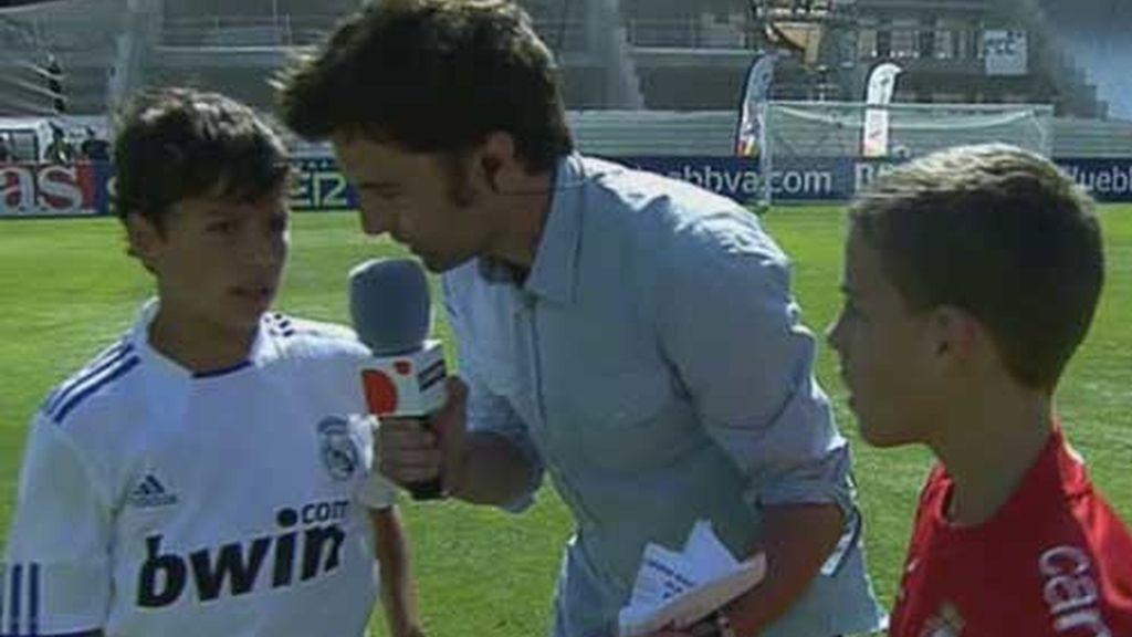 Ricardo entrevista a los protagonistas del Osasuna y Madrid