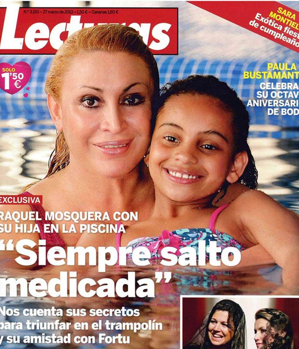 Raquel Mosquera salta medicada