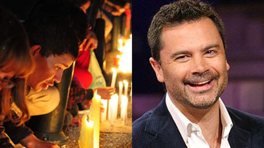 El periodista Felipe Camiroaga viajaba en el avión junto con un equipo de televisión