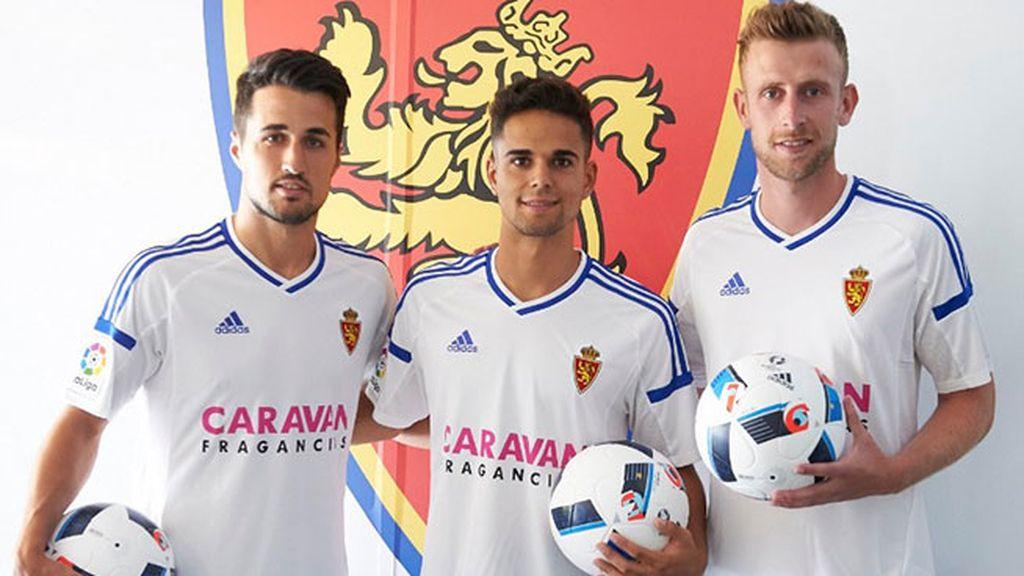 Equipación del Zaragoza en la temporada 2016/2017