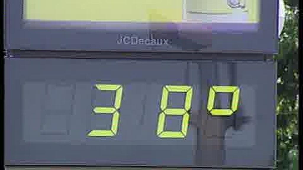 Los termómetros se disparan