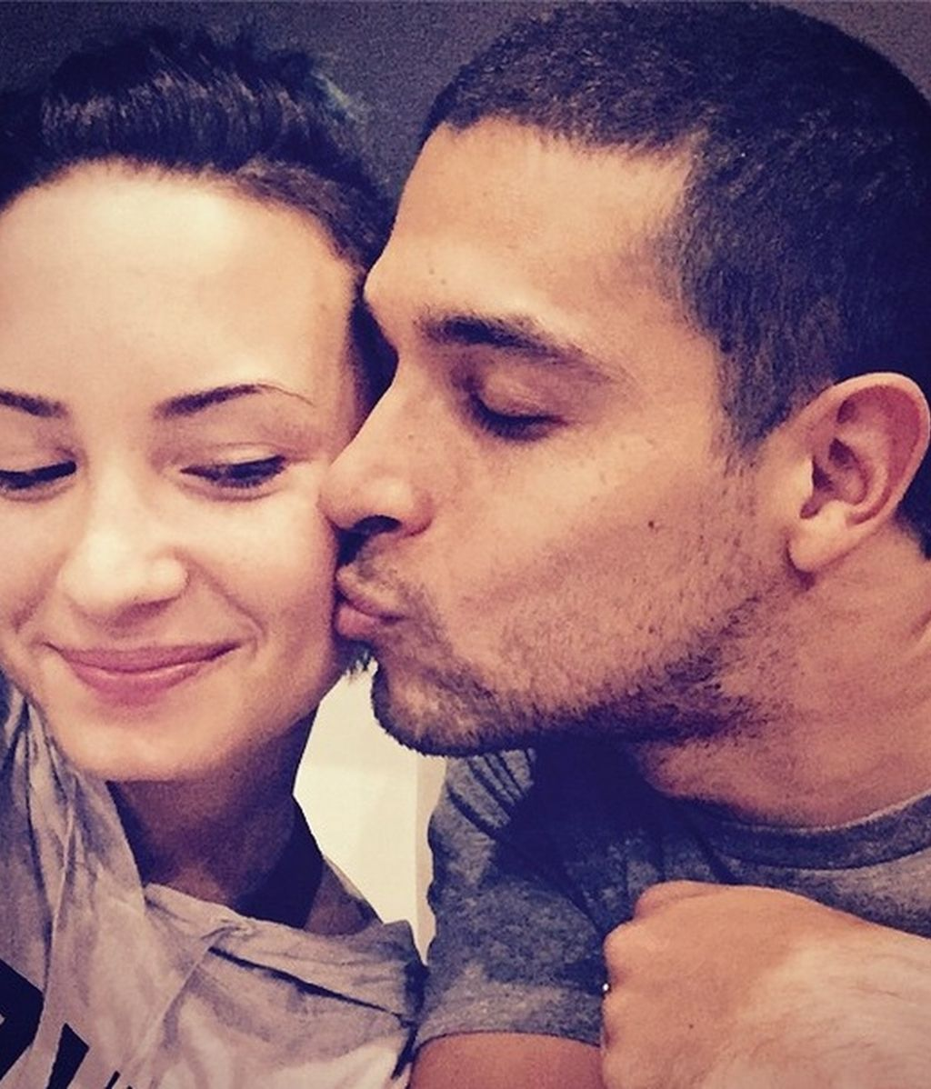 Demi Lovato y su pareja