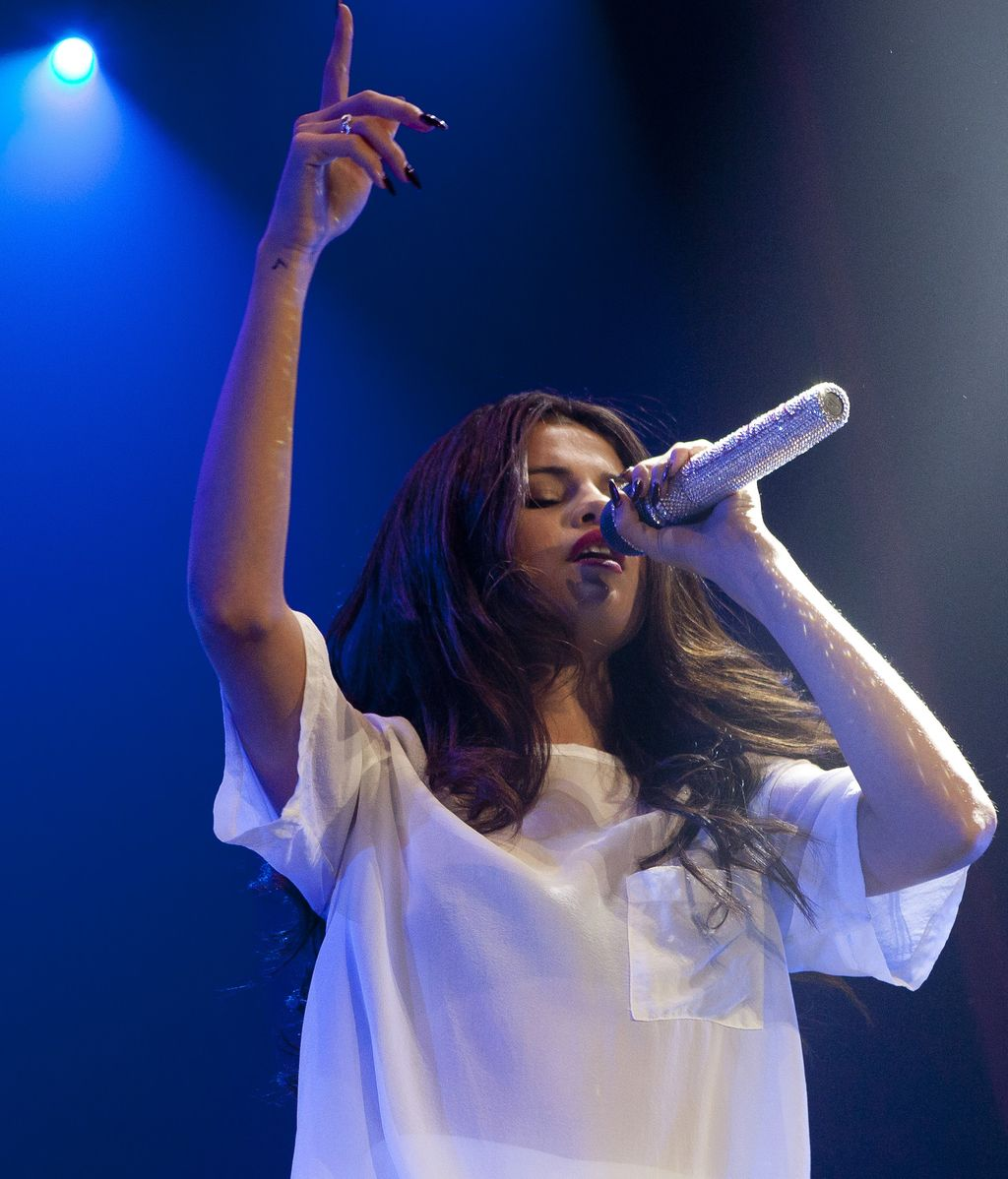 Selena Gomez lo da todo en Madrid