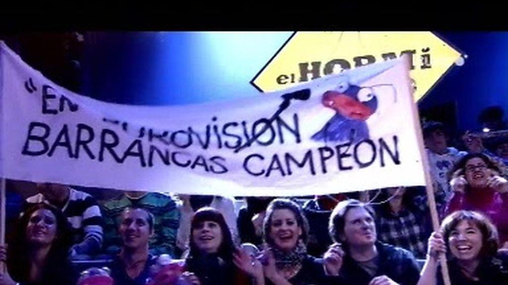 ¡¡En Eurovisión, Barrancas campeón!!