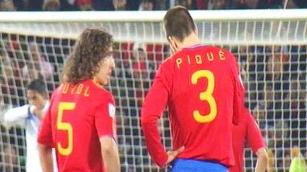 Piqué y Puyol son la doble 'P', la pareja perfecta