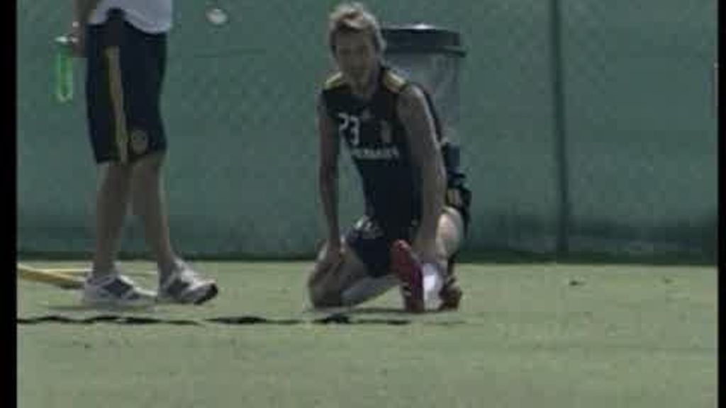 Beckham vuelve a los entrenamientos