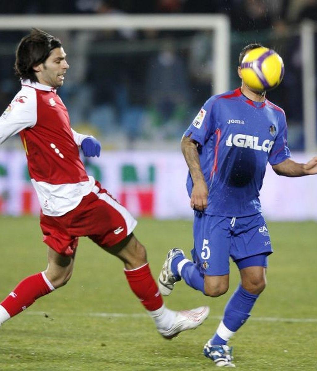 1-2. El Deportivo alcanza Europa y el Getafe mantiene el maleficio