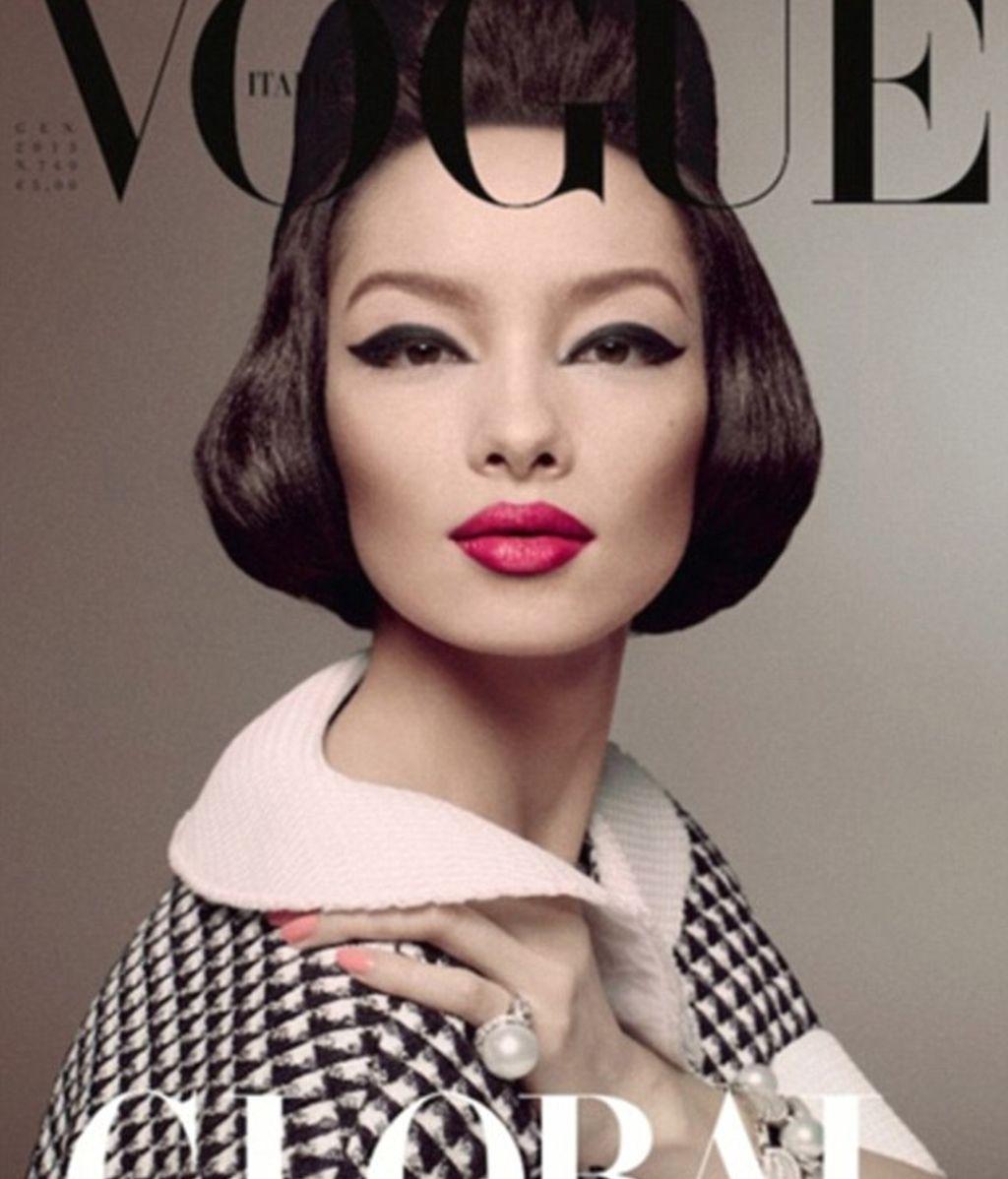 Fei Fei Sun, la primera asiática en aparecer en la portada de Vogue Italia