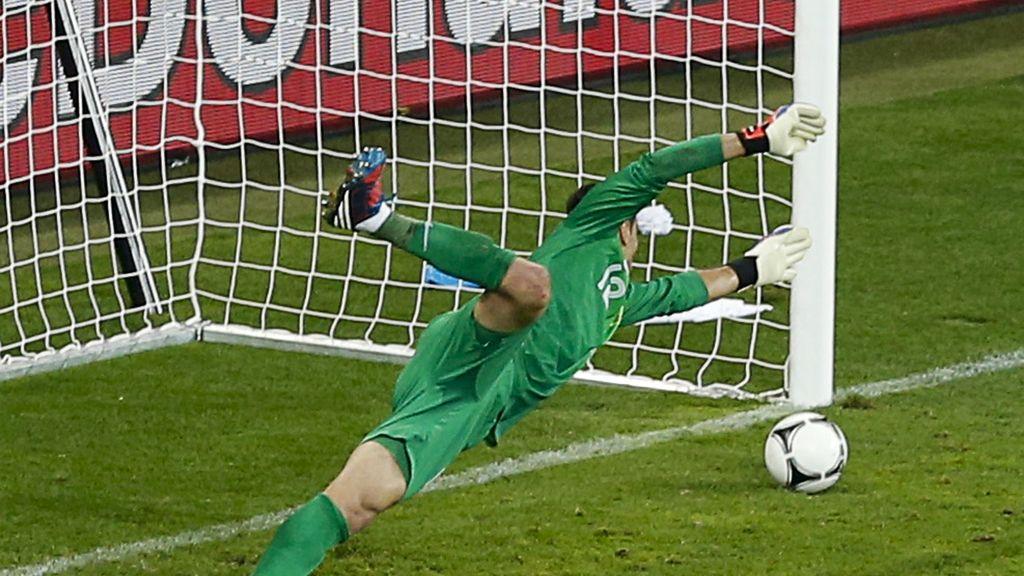 M. Gómez gana la partida a C. Ronaldo