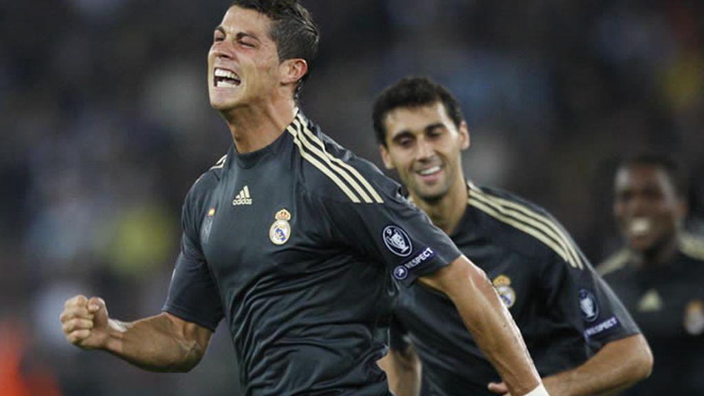 Ronaldo marcó por partida doble