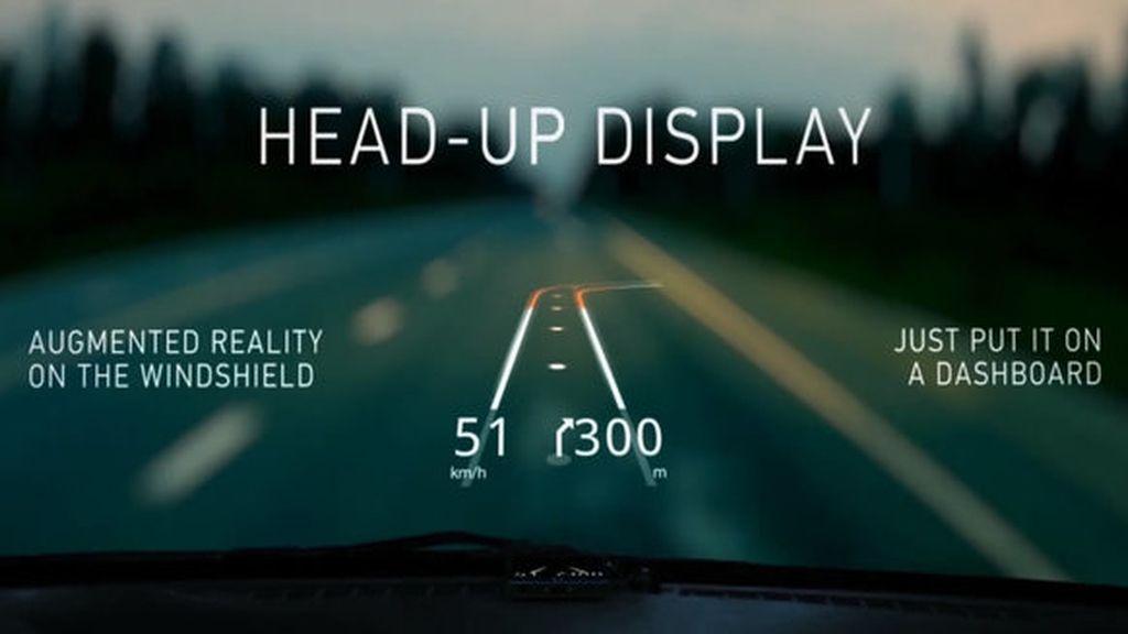 Hudway, la aplicación de realidad aumentada que convierte el parabrisas en un GPS