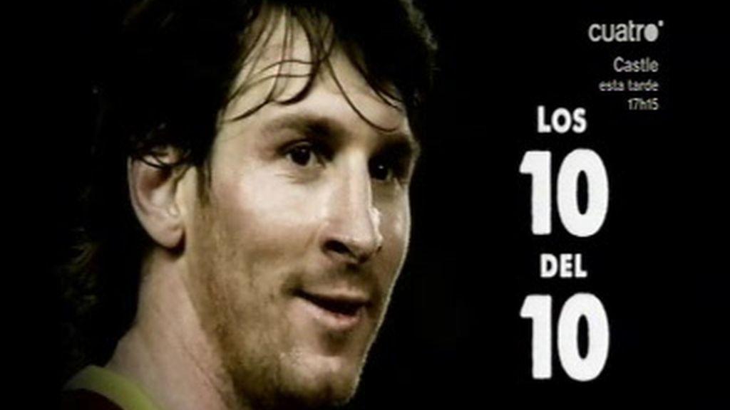10 obras de arte de Leo Messi