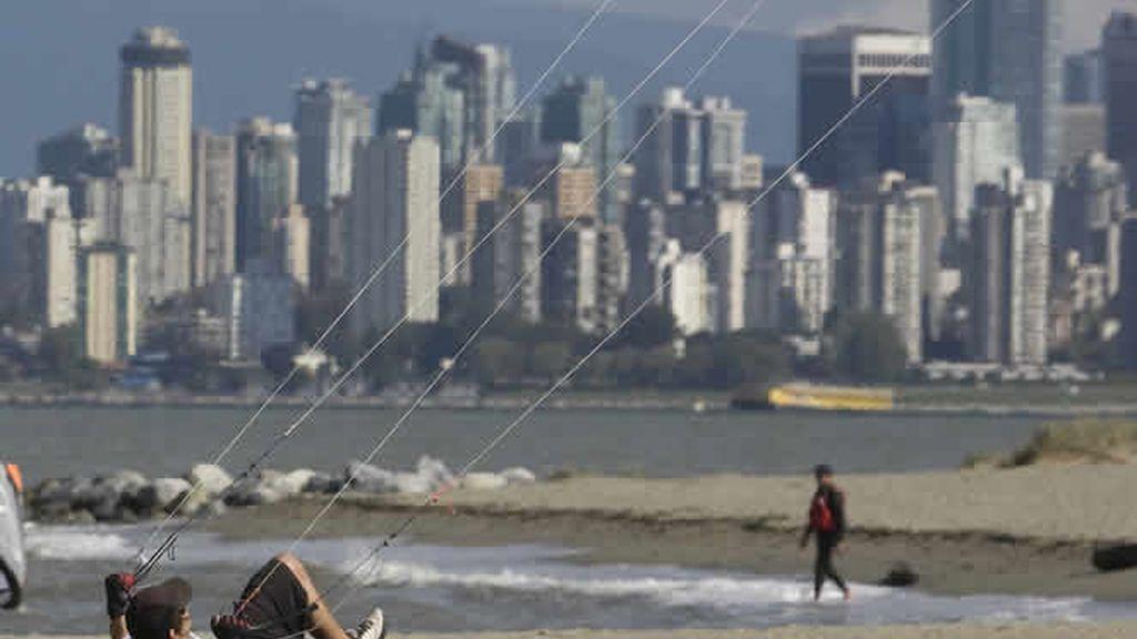 Kite surf en Vancouver