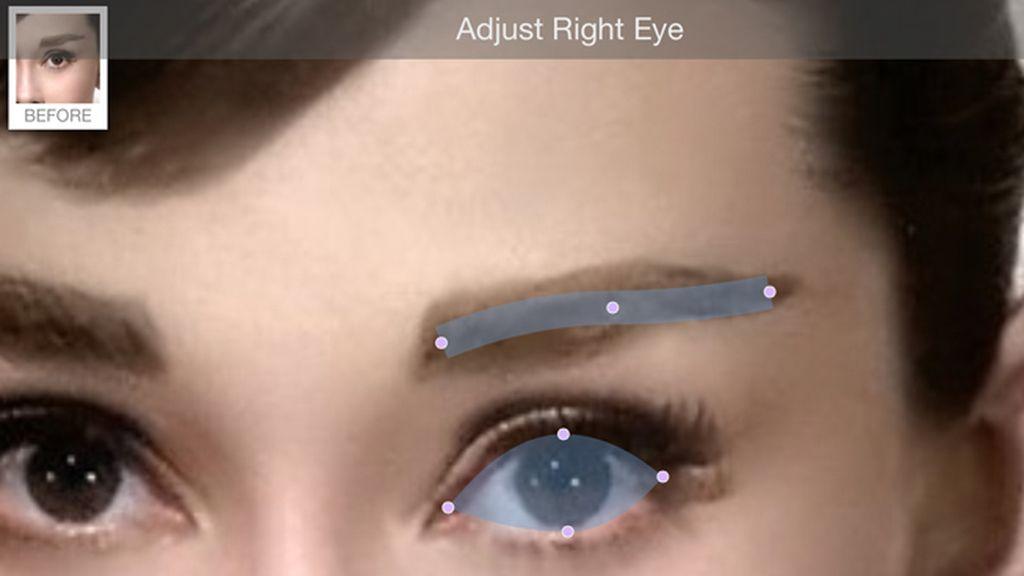 Paso 3: El ojo derecho