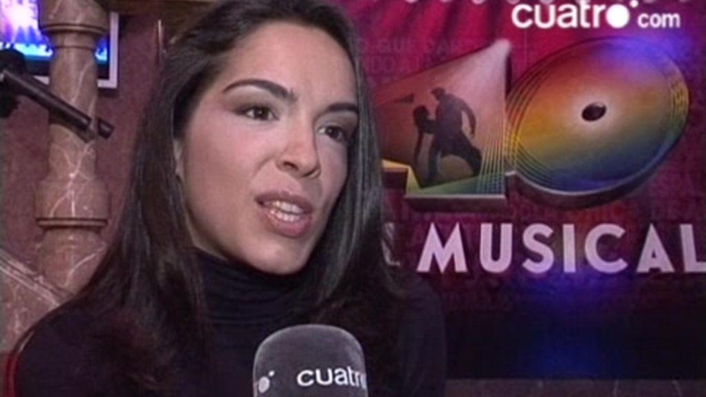 VÍDEO EXCLUSIVO. Tatiana triunfa en 40 El Musical