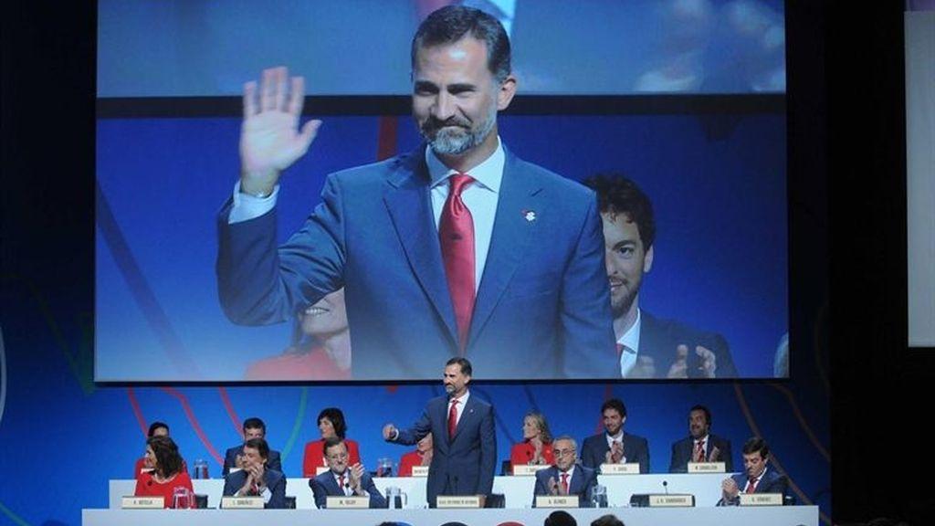 El príncipe Felipe, principal embajador de Madrid 2020, ante el COI en Buenos Aires