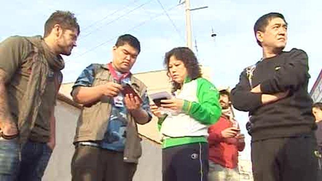 IMÁGENES INÉDITAS. Fran y Merino se desesperan con la policía china