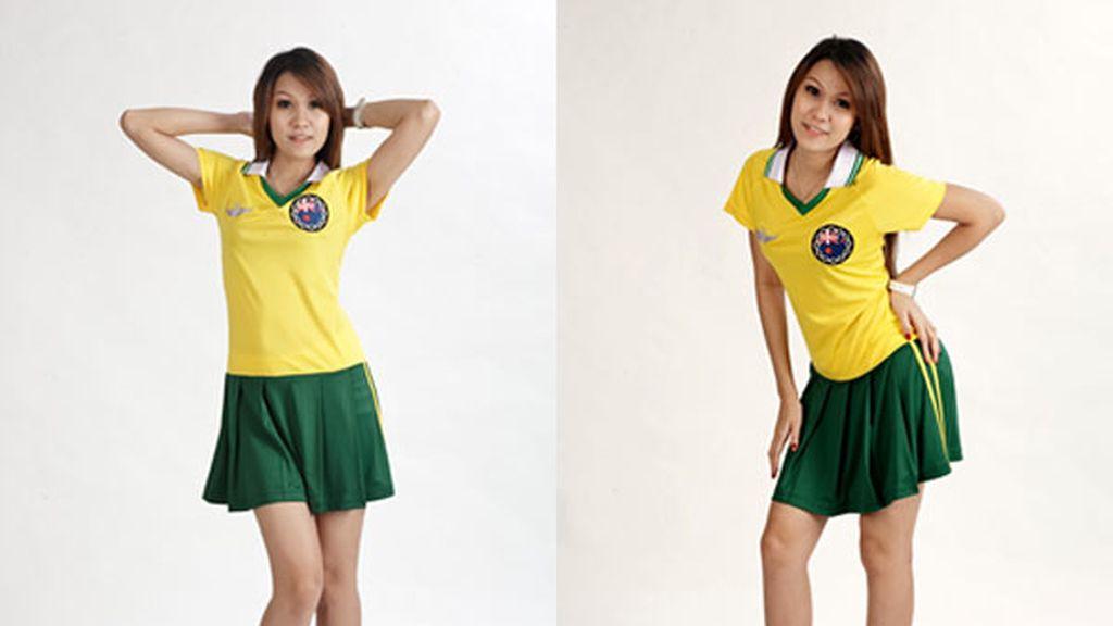 Moda futbolera y femenina