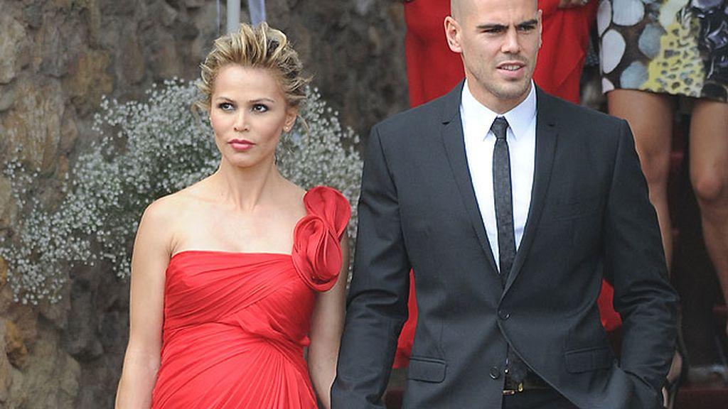 Victor Valdés y su novia, Yolanda Cardona