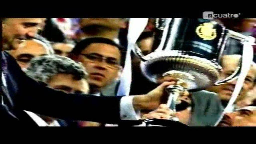 El Sevilla levanta la Copa del Rey