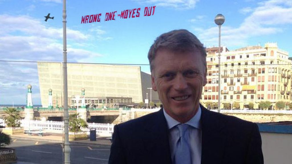 David Moyes, centro de las bromas tras su fichaje por la Real Sociedad
