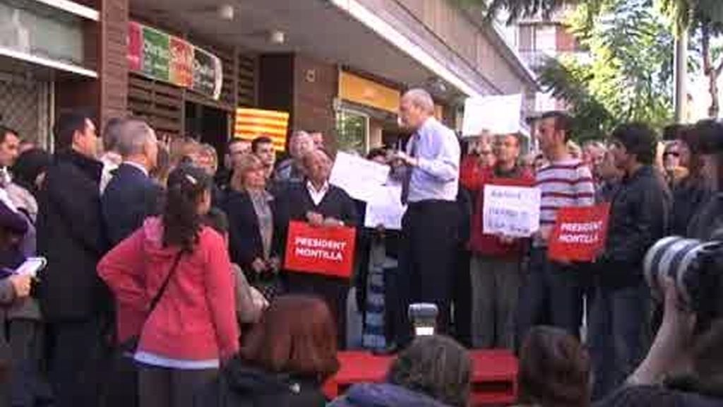 Montilla hace campaña a pie de calle