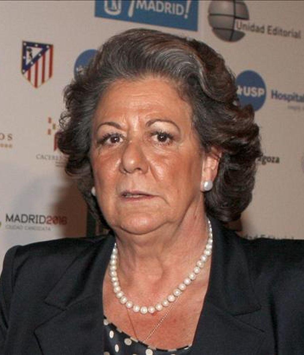 En la imagen, la alcaldesa de Valencia, Rita Barberá. EFE/Archivo