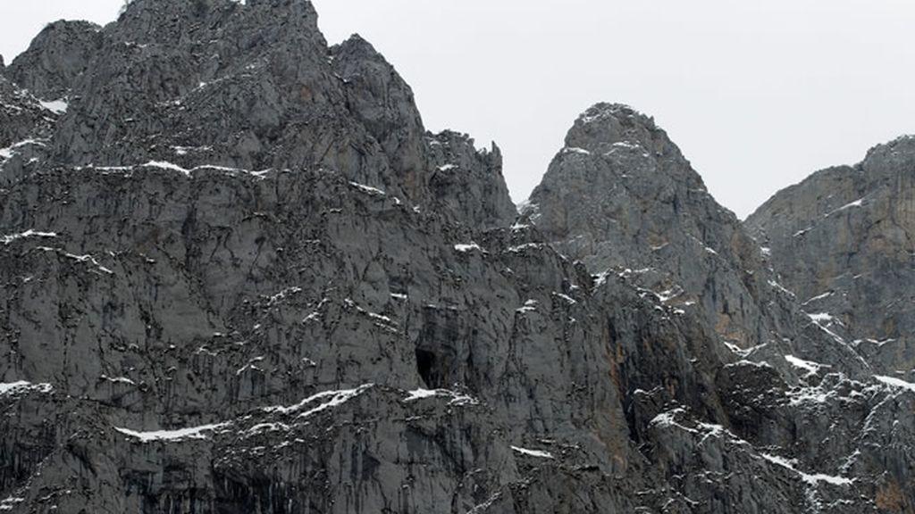 Y en picos como el Llambrión su gusto por la escalada