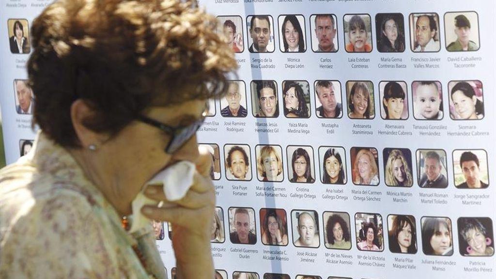 Las víctimas del accidente de Spanair piden justicia seis años después