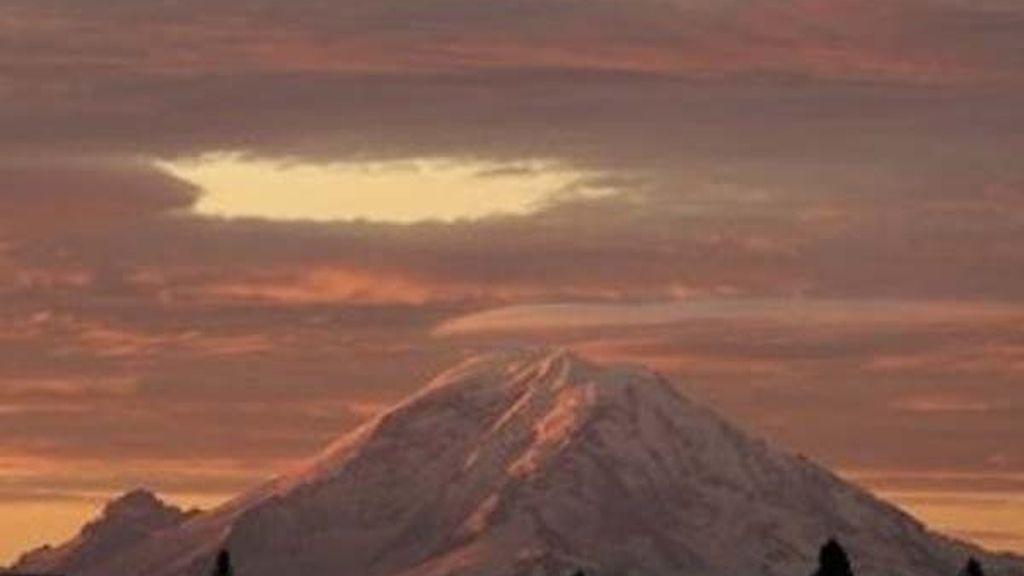 Mount Rainier en Seattle, en el estado de Washington