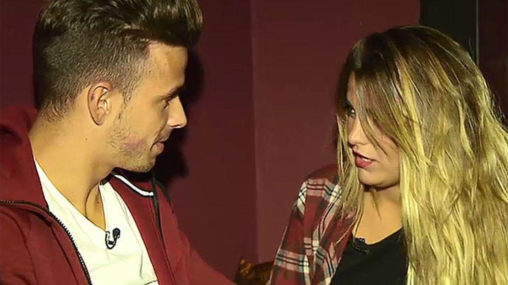 """Cristian, a Natalia: """"Cuando te veía en la tele, no me parecías trigo limpio"""""""