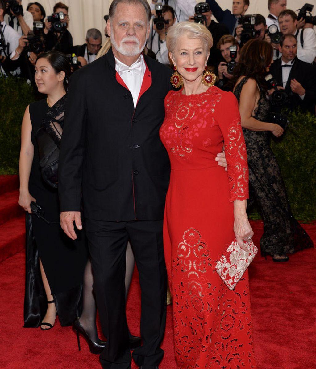 Taylor Hackford y Helen Mirren