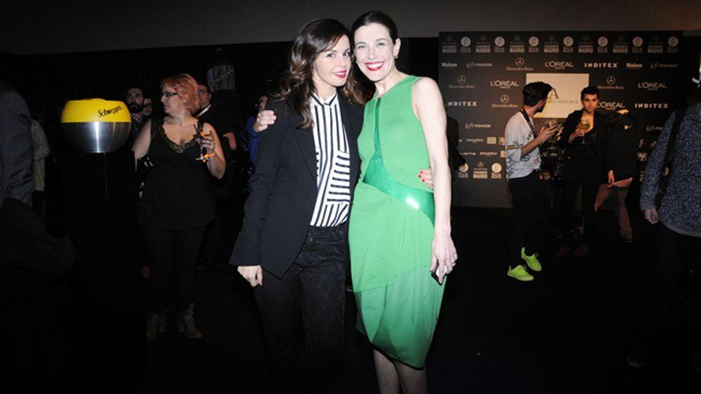 Marta Torné y Raquel Sánchez Silva, que se cambió de look por tercera vez en el día