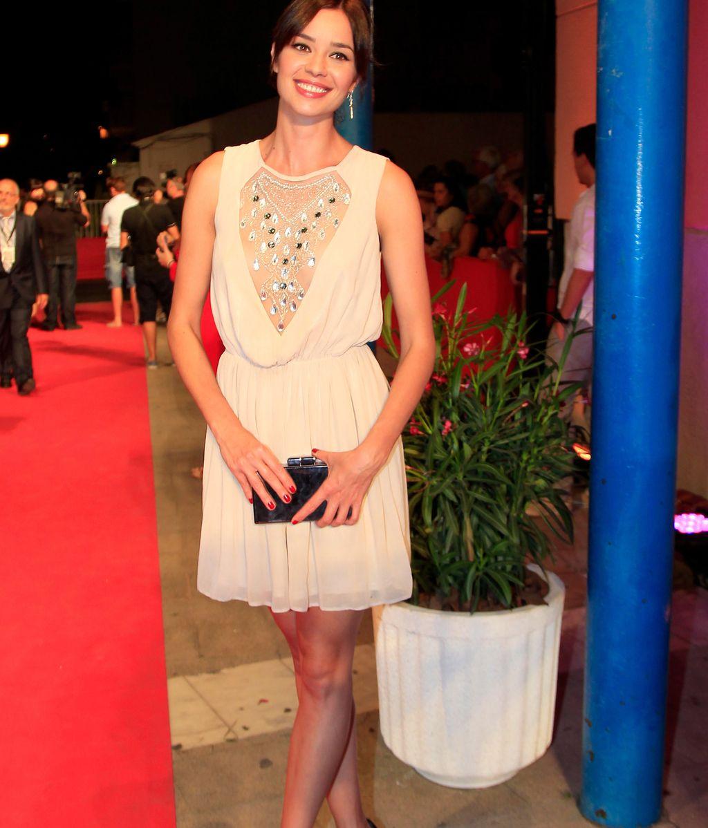 La actriz Dafne Fernández, guapísima