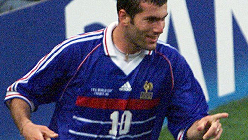 'Les blues', al azul que dio el único Mundial a la Francia de Zidane