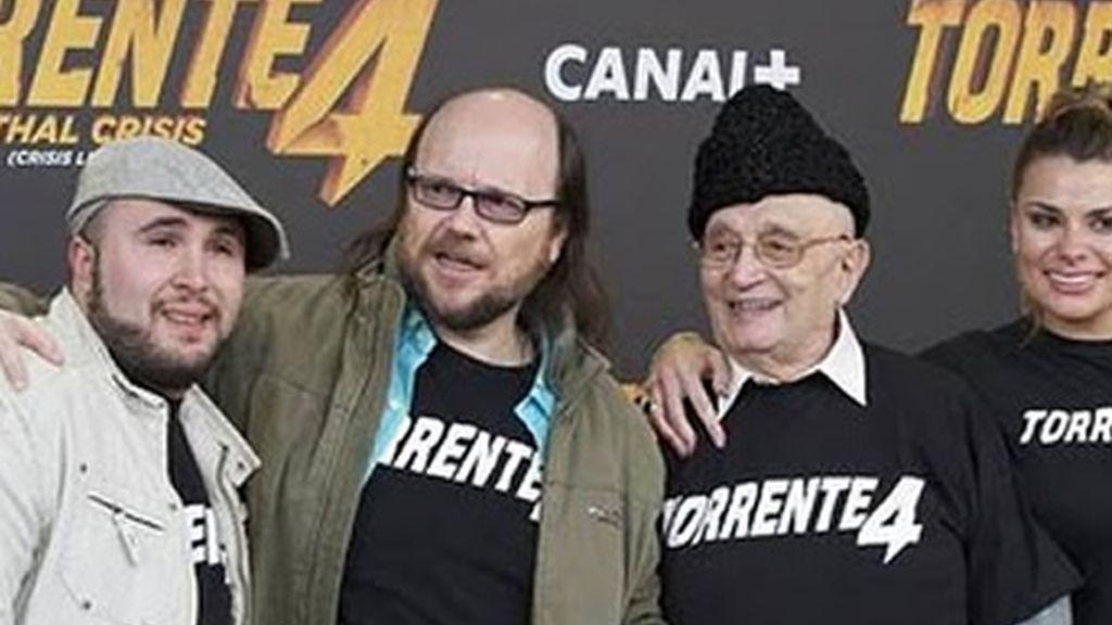 Santiago Segura y Kiko Rivera