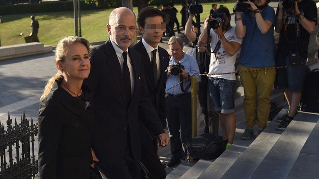 Príncipe Kubrat de Bulgaria y su mujer, Carla Royo Villanova