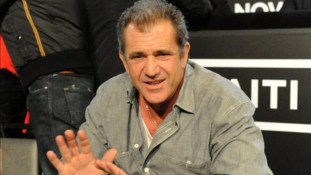 El actor y director estadounidense Mel Gibson ya sólo será director. Vídeo: Informativos Telecinco.