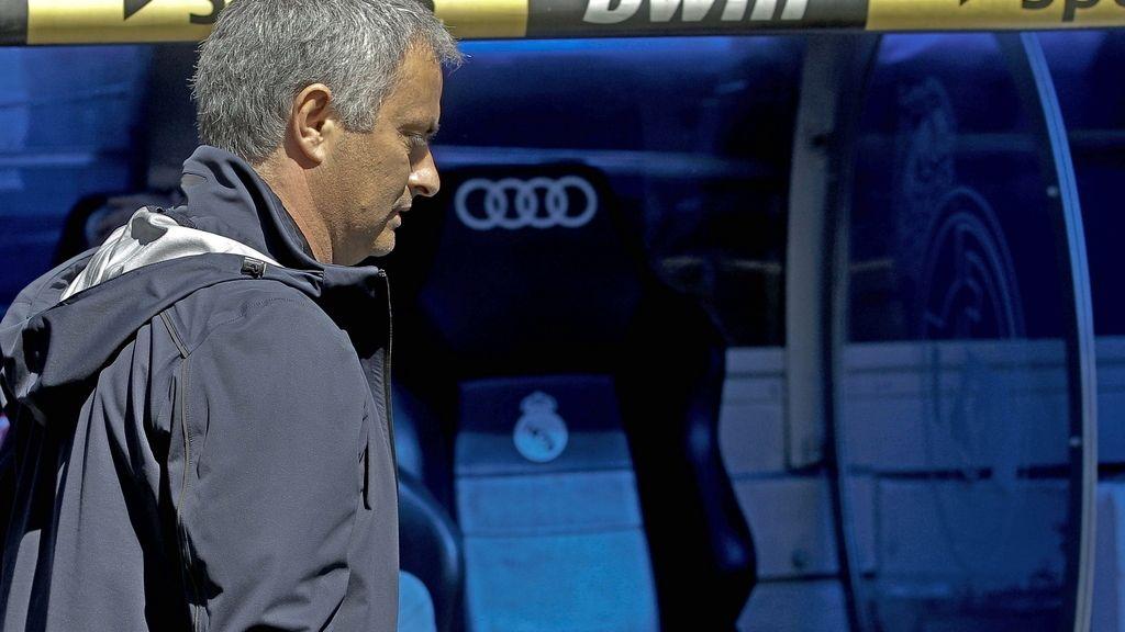 """Mourinho: """"Los jugadores no convocados no estaban aptos para jugar"""""""