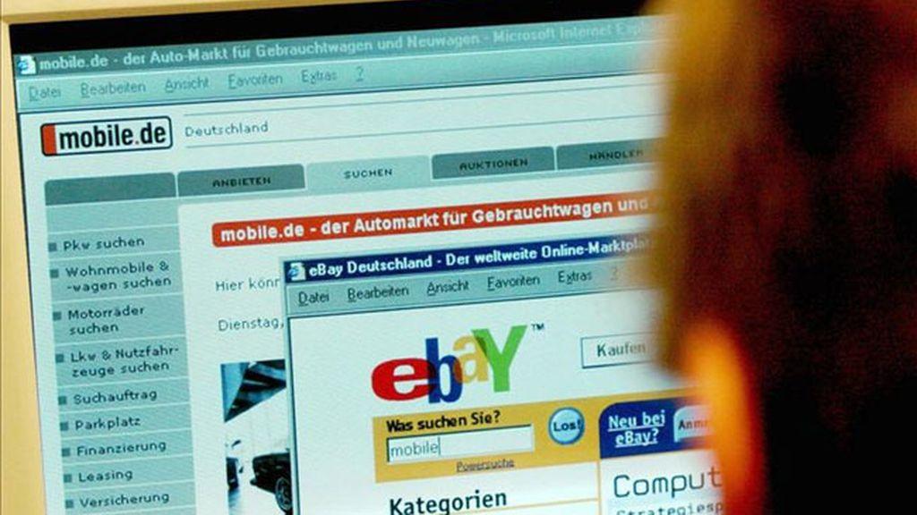 Las ventas por Internet arrasan en el 'Ciberlunes' con eBay a la cabeza