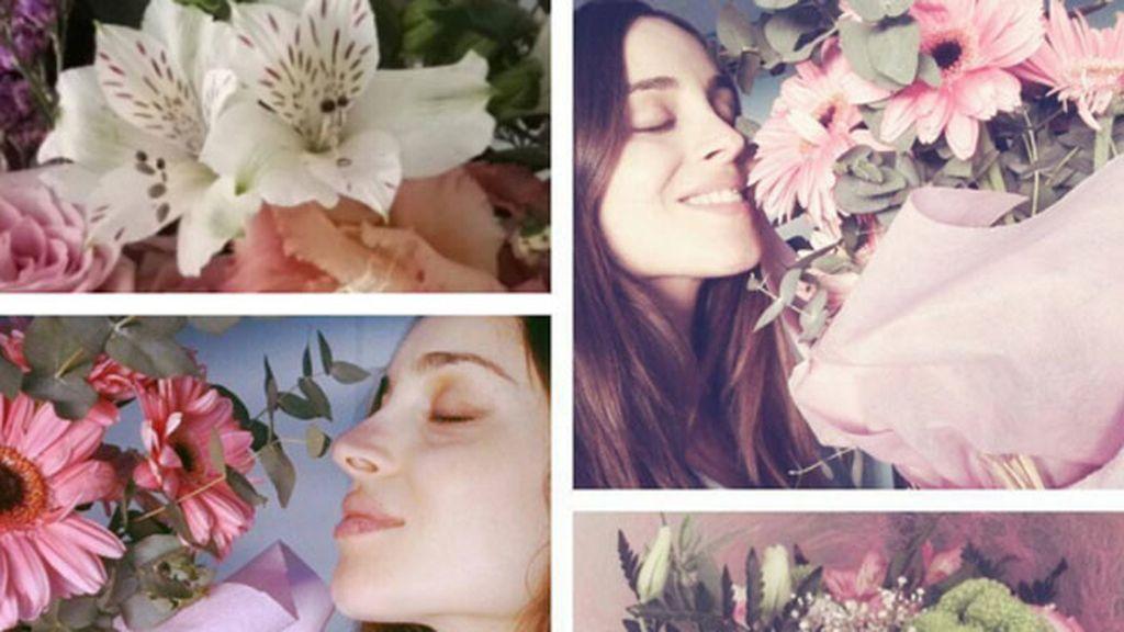 """""""Qué bonito es despertar con el olor de mi bebita y a flores..."""""""
