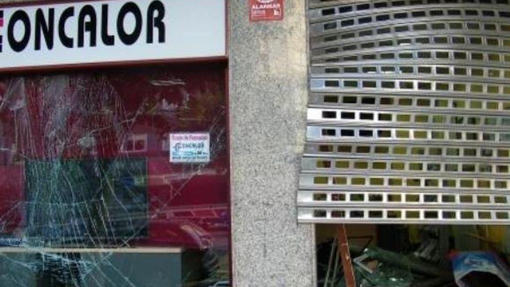 Explosión en la sede de Foncalor