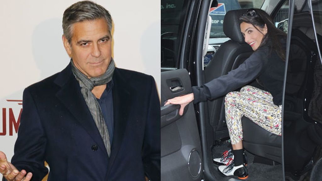 George Clooney se ha comprometido con la abogada Amal Alamuddin