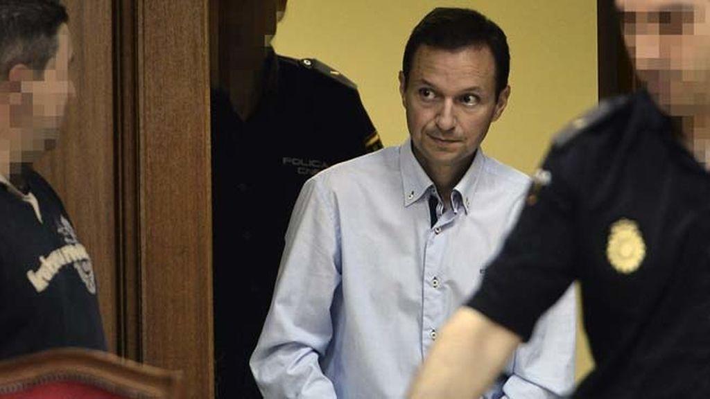 José Bretón en la última jornada del juicio