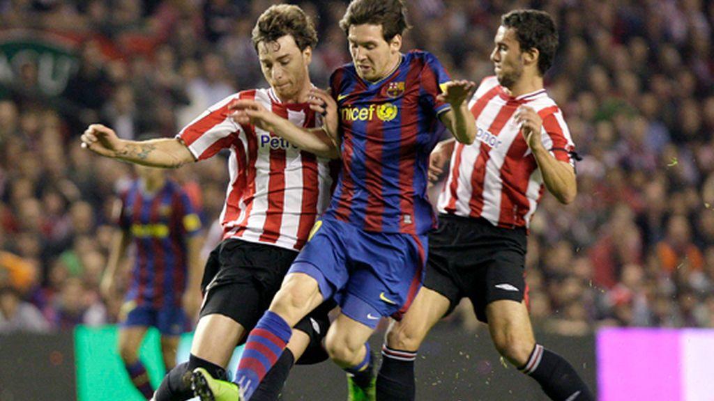 El Barcelona pierde el liderato en San Mamés (1-1)