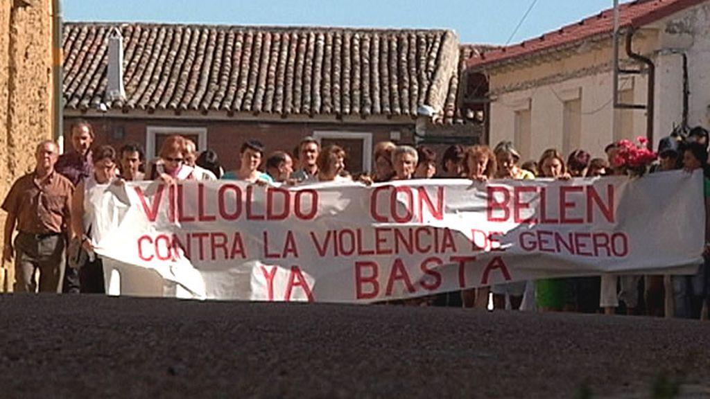 Manifestación en contra de la violencia de género