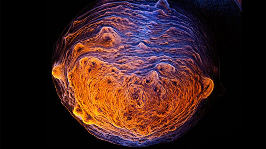 El fotógrafo Ernie Button crea imágenes similares a universos exteriores