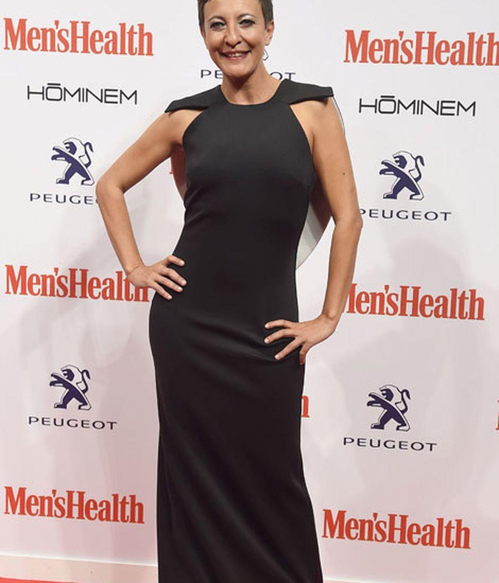 Eva Hache fue la presentadora de la gala