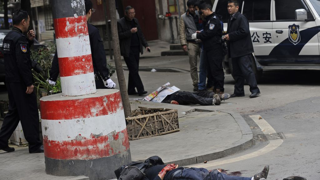 Cinco muertos por un ataque con cuchillos en China